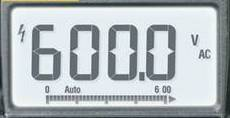 Multimètre affichage LCD
