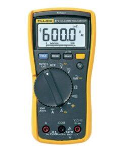 Multimètre numérique d'électricien Fluke 117 avec mesure de tension sans contact