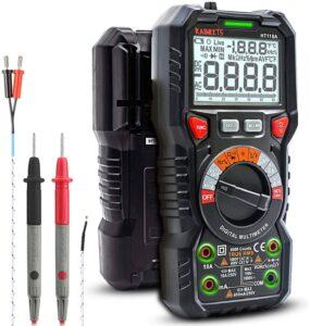 Multimètre Kaiweets HT118A Automatique Numérique TRMS 6000 Points
