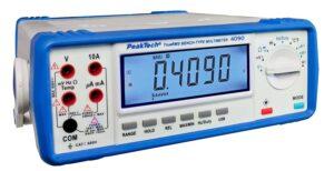 PeakTech 4090 - Multimètre Numérique de Table True RMS