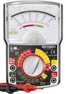 Multimètre analogique VOLTCRAFT VC-2030A CAT III