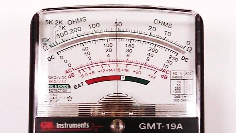 Qu'est-ce qu'un multimètre analogique