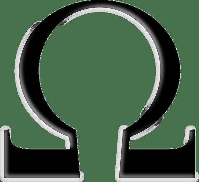 Symbole multimètre - ohm